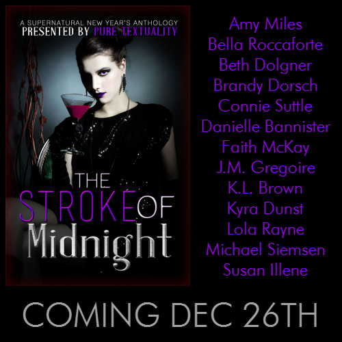 The Stroke of Midnight Promo Graphic